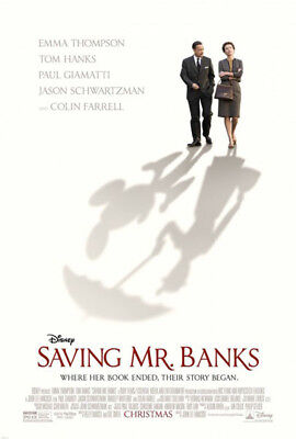 SAVING MR. BANKS great original 27x40 D/S movie poster (s001-20)