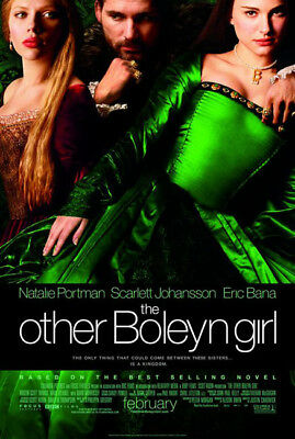 THE OTHER BOLEYN GIRL great original D/S 27x40 movie poster (s001)