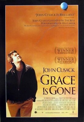 GRACE IS GONE great original 27x40 D/S movie poster (s001-31)