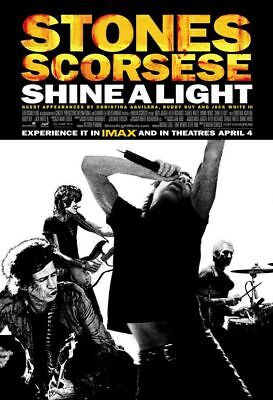 SHINE A LIGHT great original 27x40 D/S movie poster ROLLING STONES (s01)