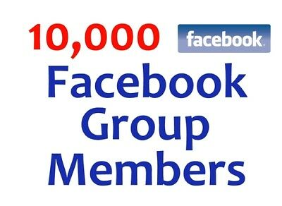 add 10000 plus real world wide facebook group members