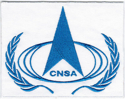 China National Space Administration CNSA Agency Badge Iron On Embroidered Patch