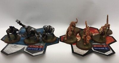 Heroscape Jandar's Oath Lot Of 6 Figures And Cards