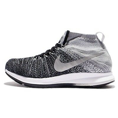 9c2ee4d7cd5c NIKE ZM PEGASUS All Out Flyknit Running Shoes 859622 400 Girls 6Y ...