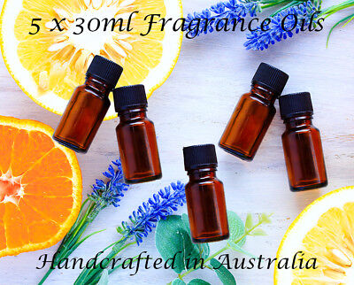 High Quality Fragrance Oil Pack For Candles and Soaps 5 x 30ml