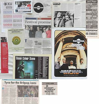 OCEAN COLOUR SCENE : CUTTINGS COLLECTION -adverts-