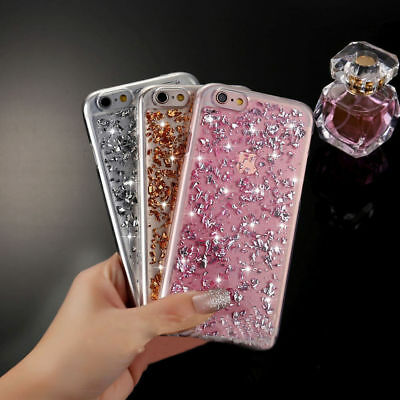 Luxury Bling Sparkling Glitter Silicone Gel TPU Case Cover For Apple iPhone