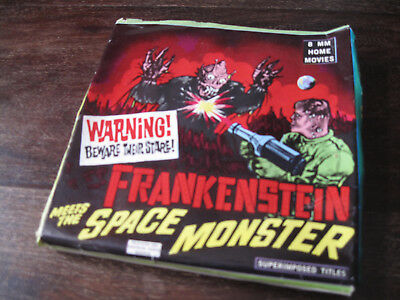 Frankenstein meets the Space Monster, 8mm Home Movie