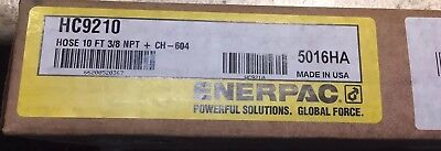 New in the box ENERPAC Rubber Hose Assy,Hyd,10 Ft, HC9210