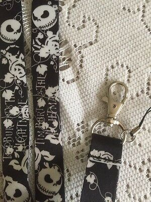 The Nightmare Before Christmas Lanyard Includes Posting Please See Description