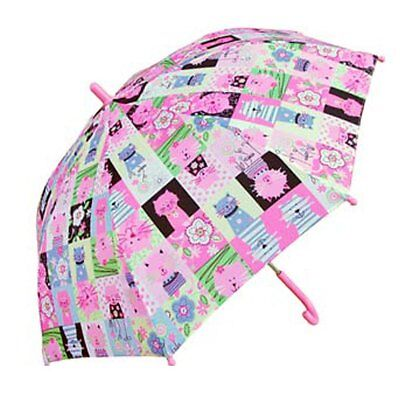 """Rainstoppers Childrens 34"""" Funky Cats Printed Umbrella"""
