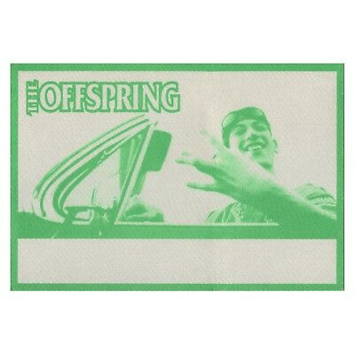 The Offspring authentic 1998 Americana Tour satin Backstage Pass crew green