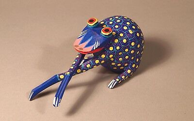Mexican Alebrije Hand-carved Frog