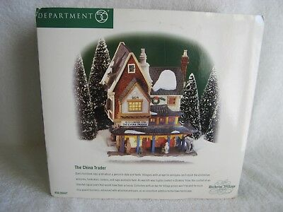 DEPT 56 - Dickens Village - THE CHINA TRADER - NEW - #58447 - NRFB