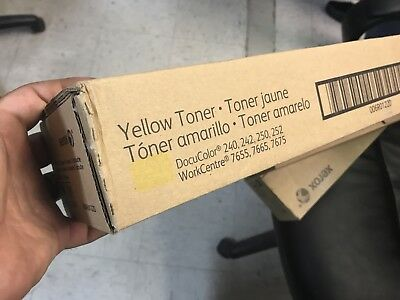 toner yellow xerox 006R01220 DOCUCOLOR 240,242,250,252 Workcentre7655,7665, 7675