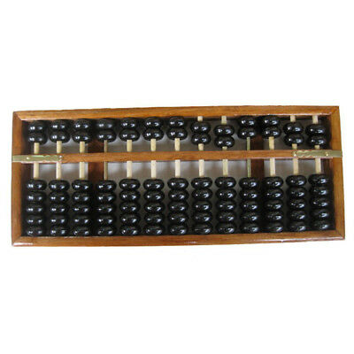 Vintage-Style Chinese Wooden Abacus, Chinese Lucky Calculator H4D6