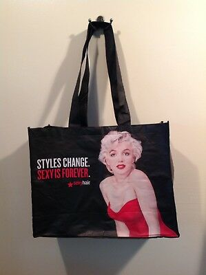 Sexy Hair Promotional Shopping or Tote Bag Featuring Marilyn Monroe