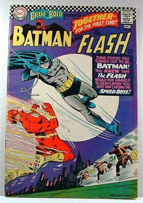 DC Comics: The Brave & The Bold #67 VG/F (1966) Batman and The Flash
