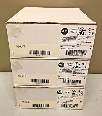 New Allen Bradley 1606-XLP72E /A AC/DC Compact Power Supply 24-28V DC 72W