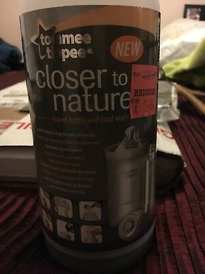 Tommee Tippee Closer To Nature Travel Bottle And Food Warmer RRP £12.99