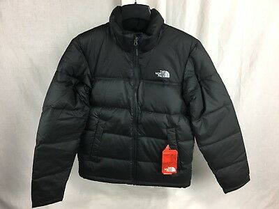 New The North Face Nuptse Down Jacket Black Mens Insulated 700 Fill Dwr S-Xxl