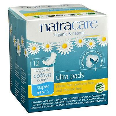 Natracare Ultra Super Pad With Wings