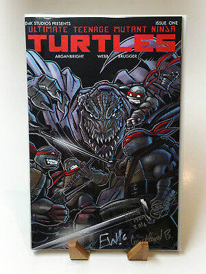*RARE* Ultimate Teenage Mutant Ninja Turtles TMNT #1 *50 COPIES MADE*