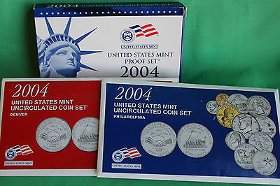 2001 Proof and Uncirculated Annual US Mint Coin Sets PDS 30 Coins