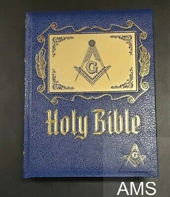 Masonic Altar Bible with a set of Bible Markers ( Free Delivery)