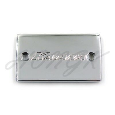 "Brake Fluid Reservoir Cap Cover ""Katana"" For 1989-2007 Suzuki Katana 600 Chrome"