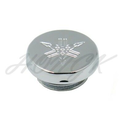 Chrome Fluid Reservoir Cap Cover For 89-99 Yamaha FZR600/95-09 Yamaha YZF600R