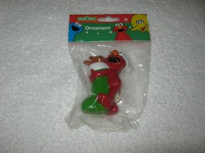 Kurt Alder -  Sesame Street  Christmas Ornament - Elmo - New Package - From 2002