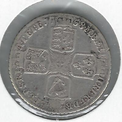 Great Britain 1758 Shilling