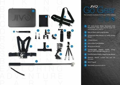 Jivo GoGear 11-in-1 Accessory Kit for GoPro Action Cameras