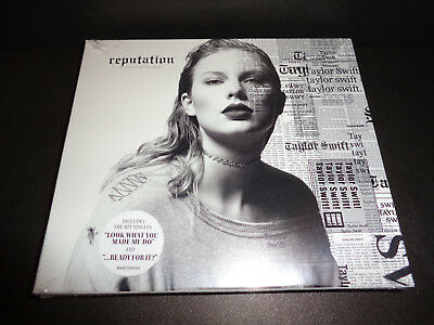 TAYLOR SWIFT Reputation BRAND NEW FACTORY SEALED CD 15 Tracks BigMachine Records