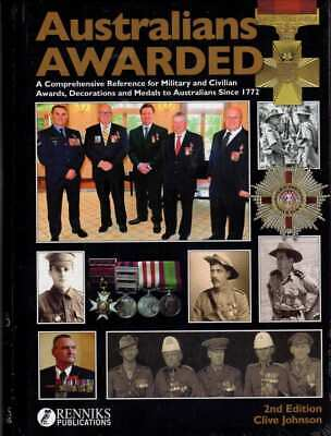Australians Awarded 2nd Edition Military & Civilian Awards Decorations Medals