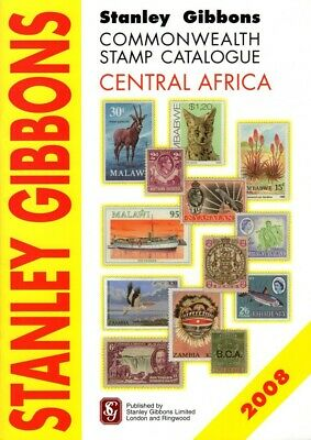 SG Stanley Gibbons Central Africa Commonwealth Stamp Catalogue 2nd Edition So...