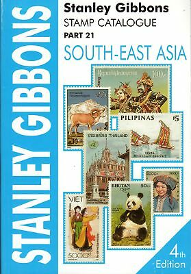 SG Stanley Gibbons South-East Asia Part 21 Stamp Catalogue 4th Edition Soft C...