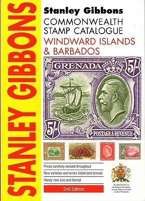 SG Stanley Gibbons Winward Barbados Commonwealth Stamp Catalogue 2nd Edt Soft...