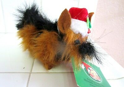 Annalee Christmas  Yorkie  Exclusive  Department Store Edition  2013