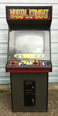 Midway Mortal Kombat Arcade Game Upright Video Game Coin Operated