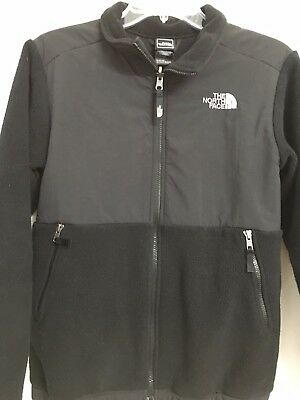 The North Face Black Fleece Jacket Youth Boys Size Large 14/16