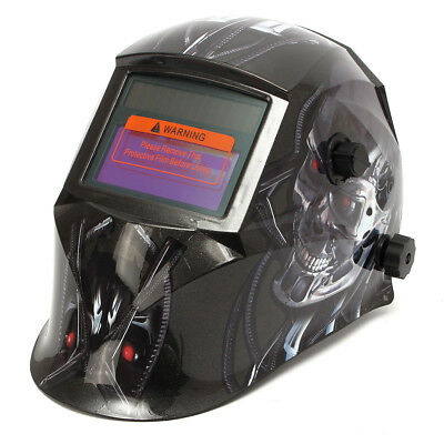 Pro Solar Adjustable WELDING Grinding Helmet Auto Darkening Mig Tig Arc Mask BB
