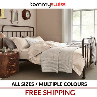 Tommy Swiss: New King, Queen, Double, King Single & Single Size Metal Bed Frame
