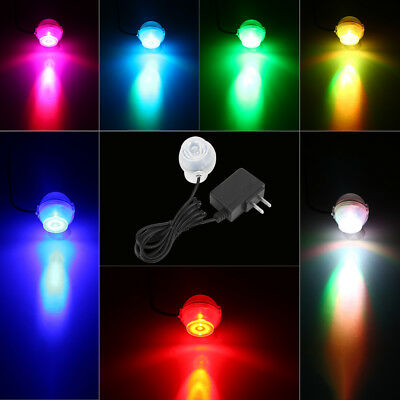 Multi-color Waterproof LED Aquarium Diving Light Fish Tank Lighting Decor Lamp