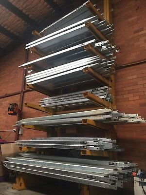 Forklift Fork Extensions Slippers Galvanized 2400mm fully enclosed Varying Sizes