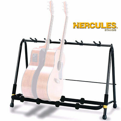 Hercules GS525B Guitar Rack 5 space stand for Electric and Acoustic