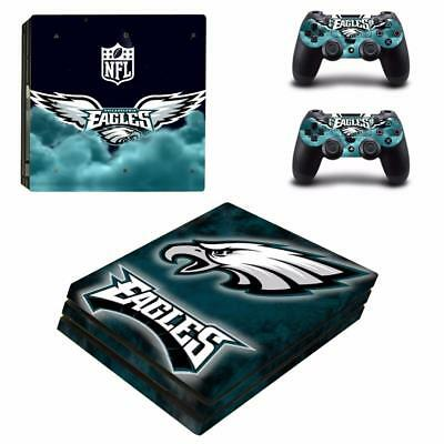 Xbox One S Slim Skin Carson Wentz Eagles Vinyl Skin Stickers Decals For Console Faceplates, Decals & Stickers Video Game Accessories