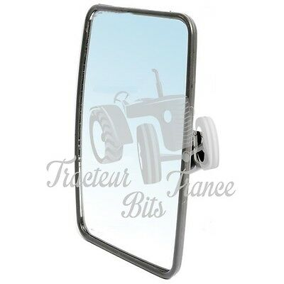 ADAPTABLE FORD NEW HOLLAND  RETROVISEUR Dimensions : 170 x 230 mm.Glace convexe.