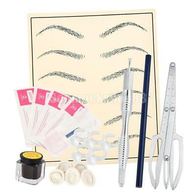 Eyebrow Microblading Permanent Make-up Augenbraue Tattoo Set